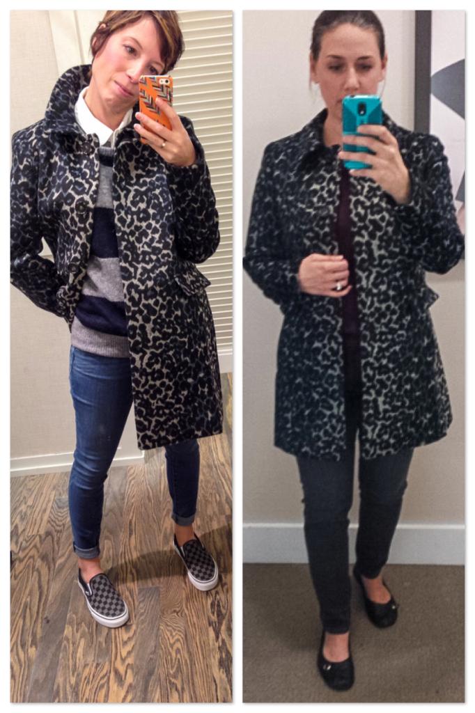 drs - LOFT-leopard-coat