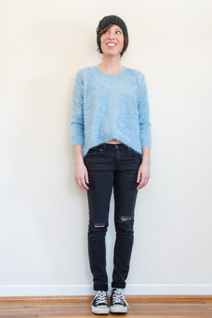 everydaystyle-black-converse-rag-and-bone-skinny-jeans-fuzzy-sweater-cropped-2