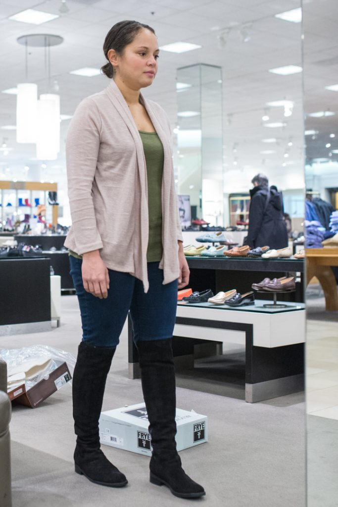 over-the-knee-boots-waterproof-skinny-jeans-long-cardi