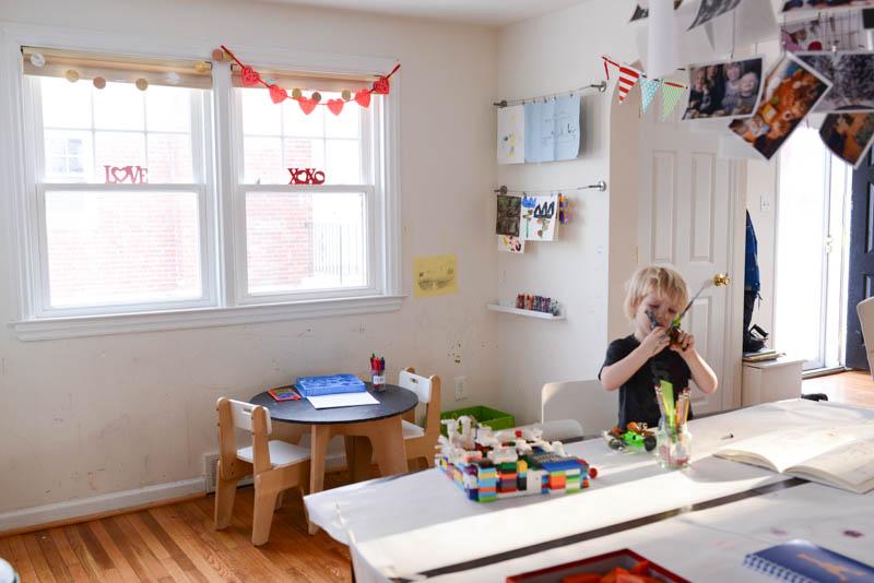 living-room-kid-art-space-makeover