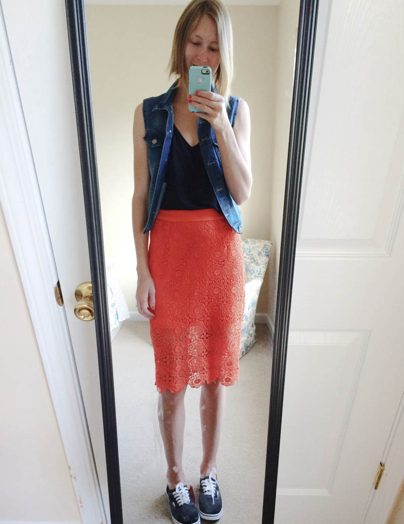 pencil-skirt-made-casual