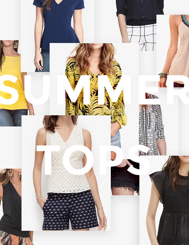 Summer Tops For Curvy Girls