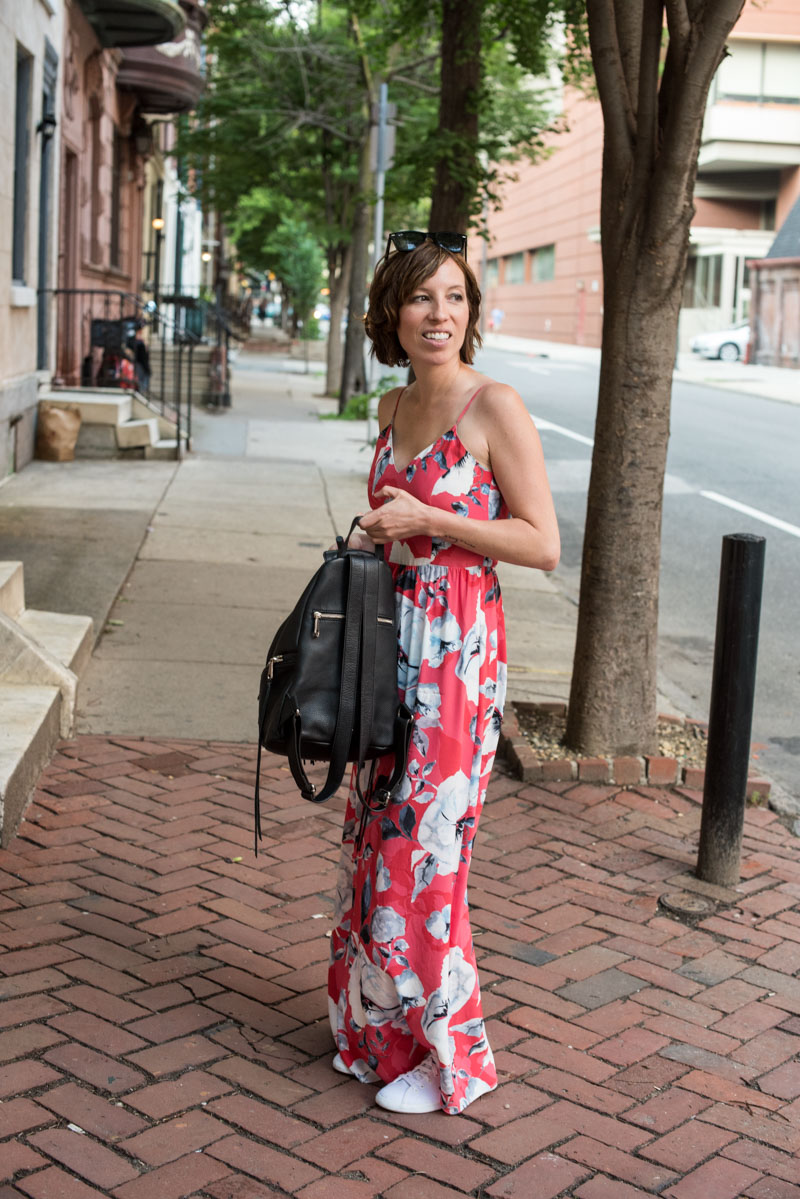 Dramatic Maxi Dresses and Sneakers (Two