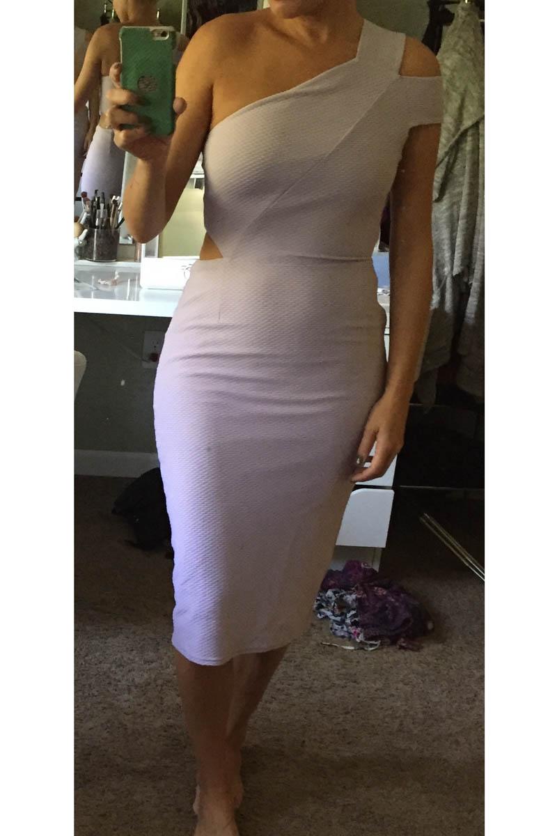 one-shoulder-midi-dress