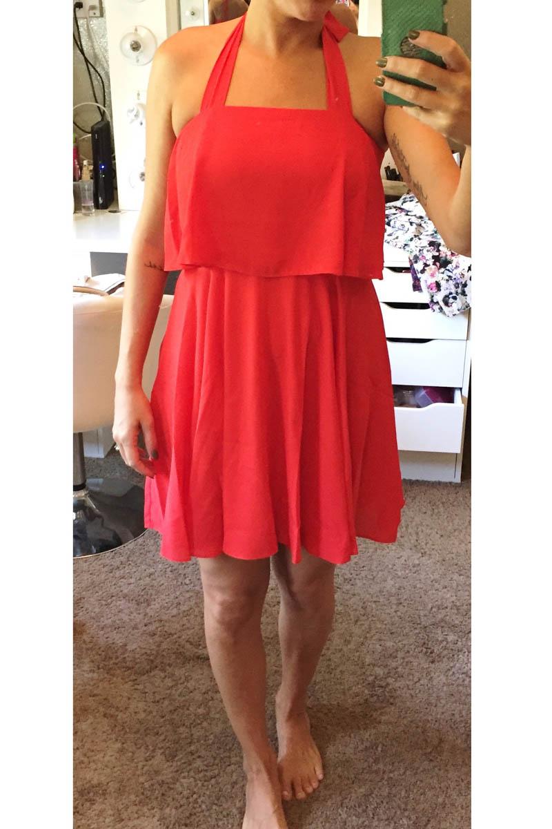 red-halter-dress