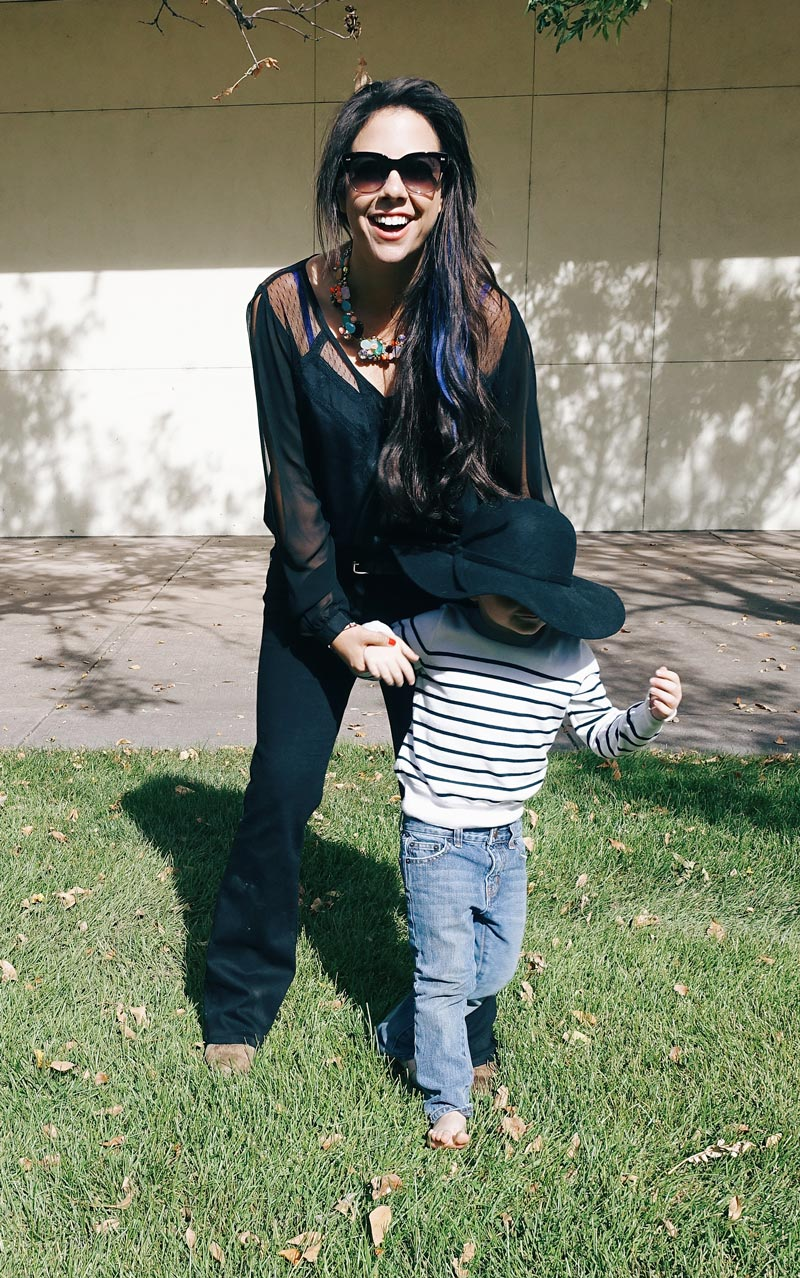Mom and Kids Fashion for Fall