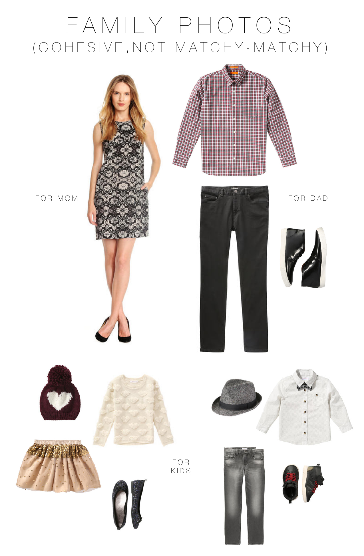 What To Wear For Family Photos 8 Tips Look Cohesive Not Matchy
