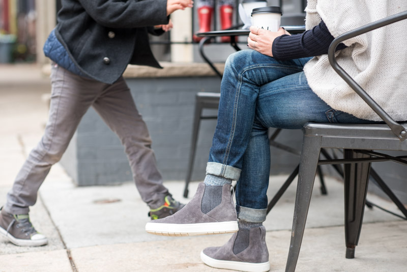 Gray Vince Sneaker Boot