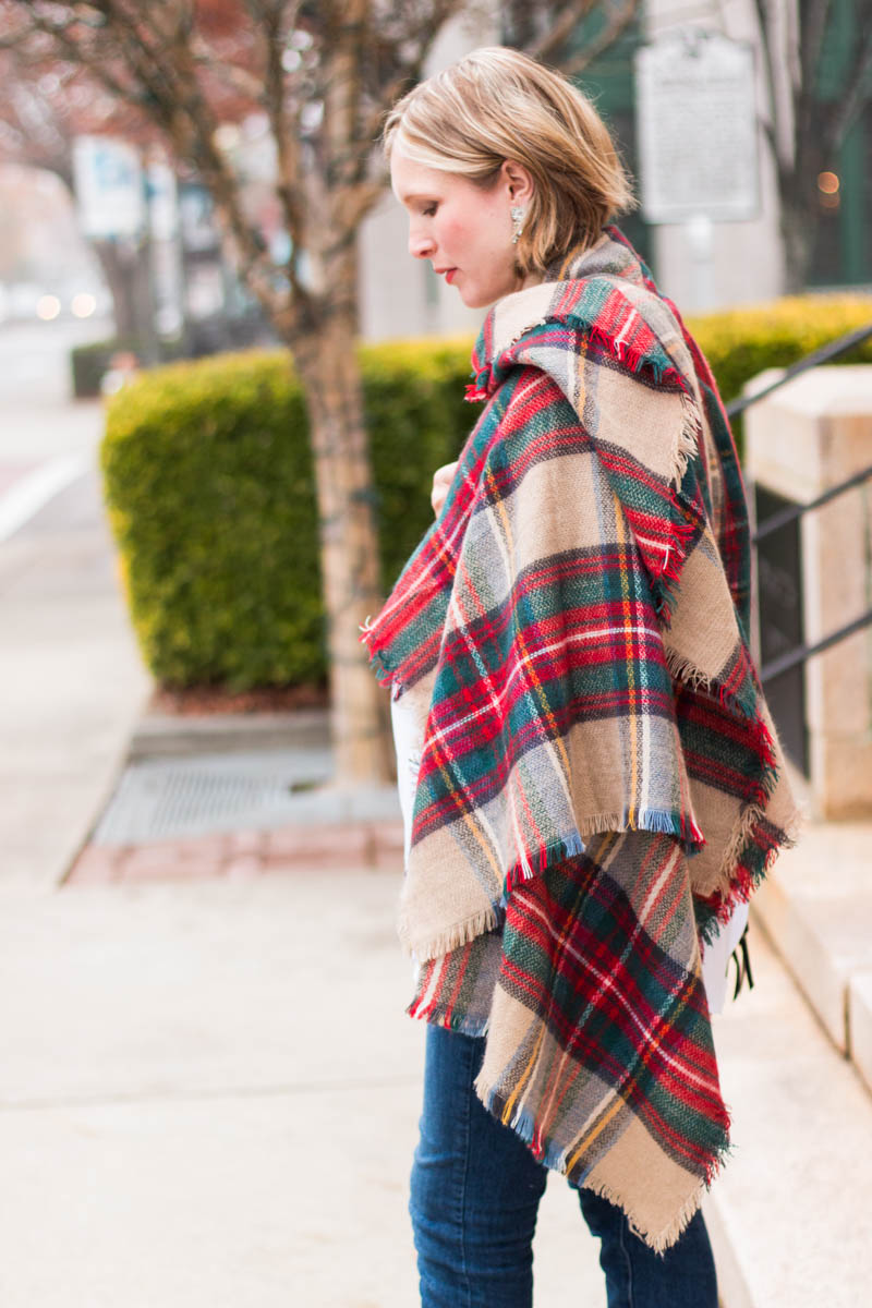 plaid-blanket-scarf-for-holiday-outfit