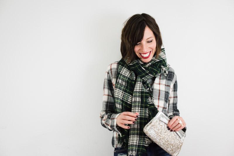 plaid-scarf-plaid-shirt