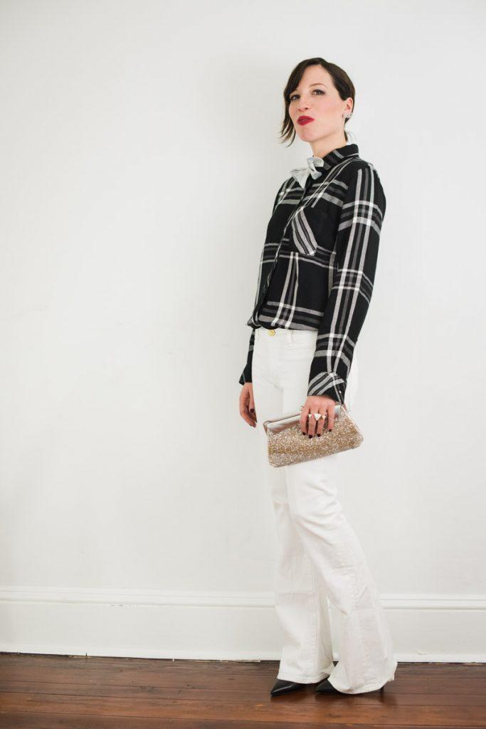 plaid-shirt-with-white-denim