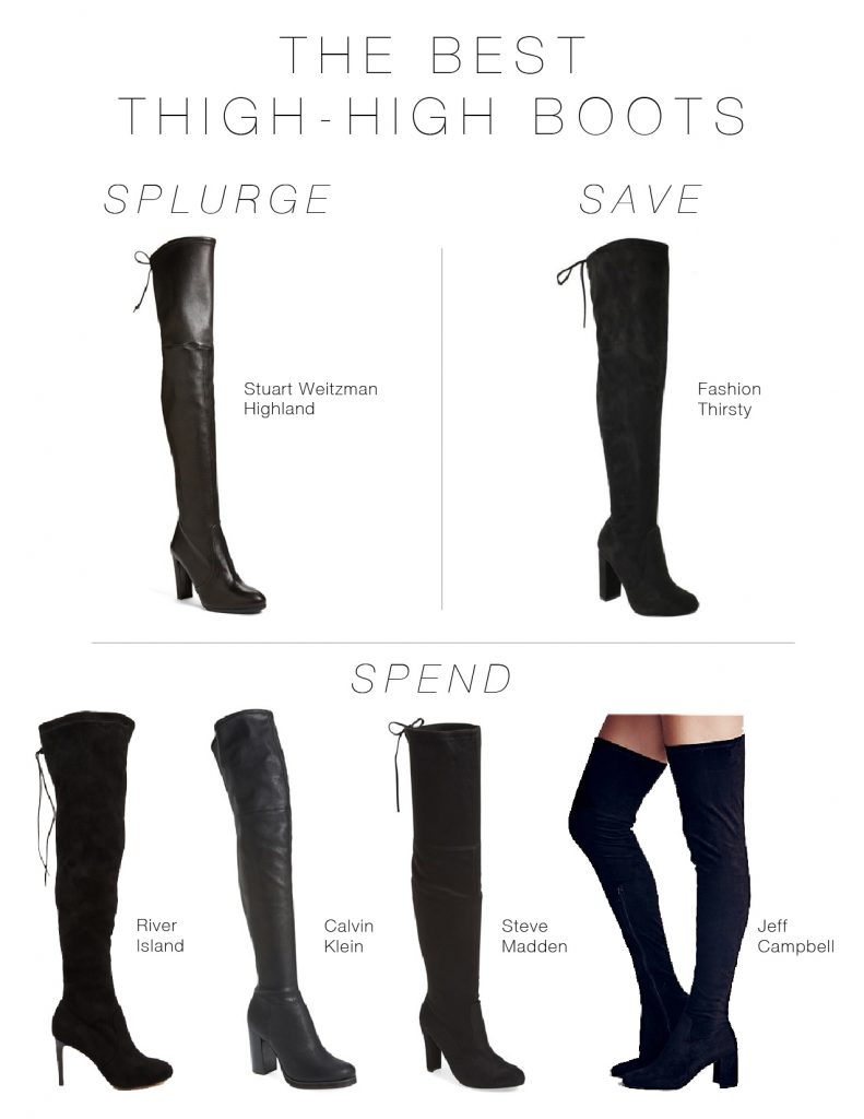 7a2b45a407c The Best Thigh-High Boots At Every Price Point - The Mom Edit