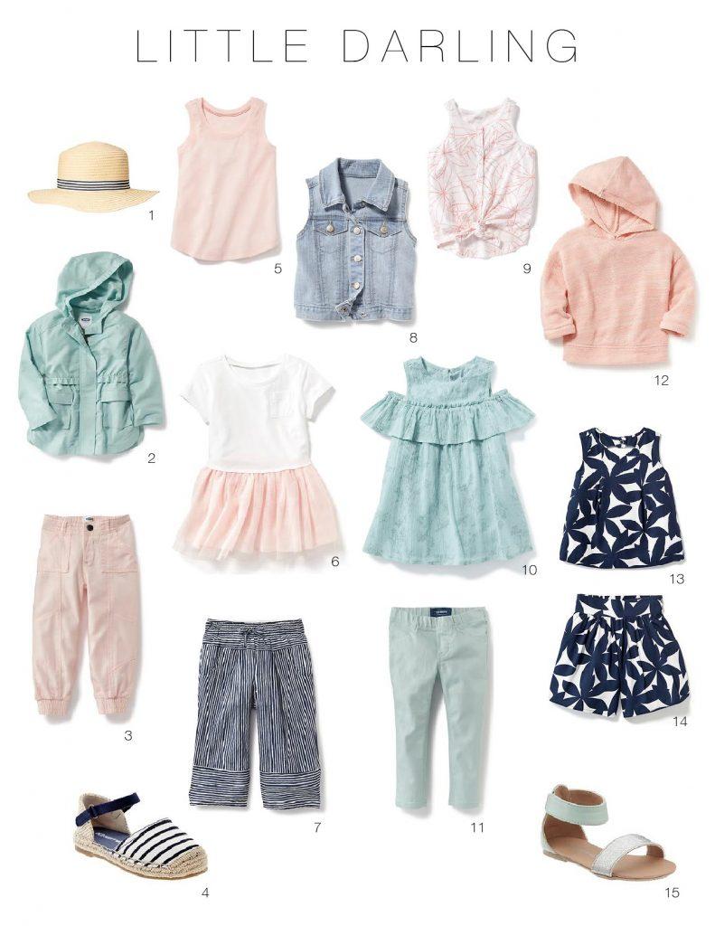 Toddler Girl Spring Wardrobe