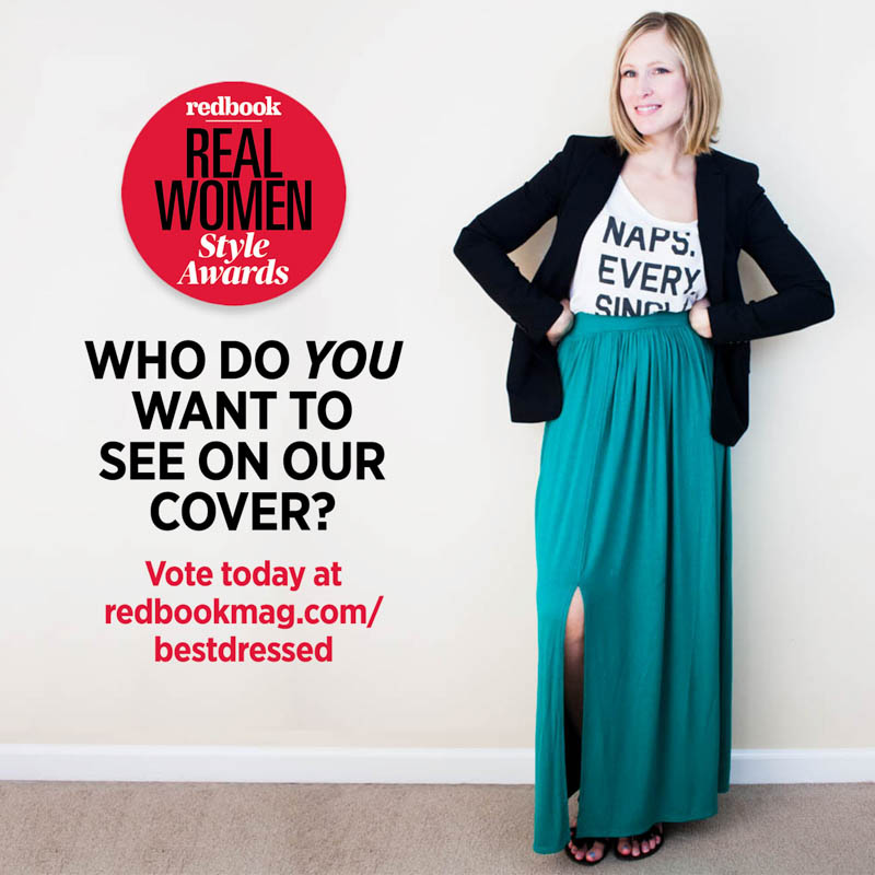 redbook mag real women style