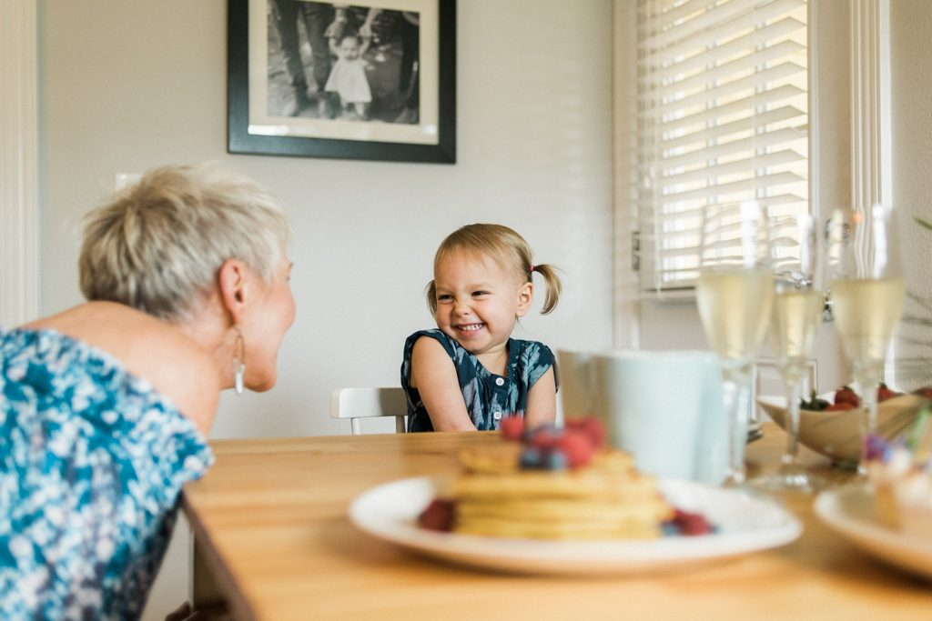 Mamas take it easy...brunch at home with the girls (Grams & baby), is a no-stress way to enjoy Mother's Day. Our fav brunch recipes (& a li'l style) inside.