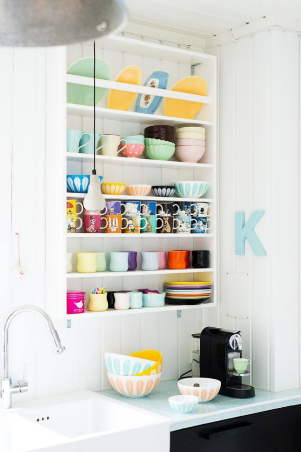 open-shelves