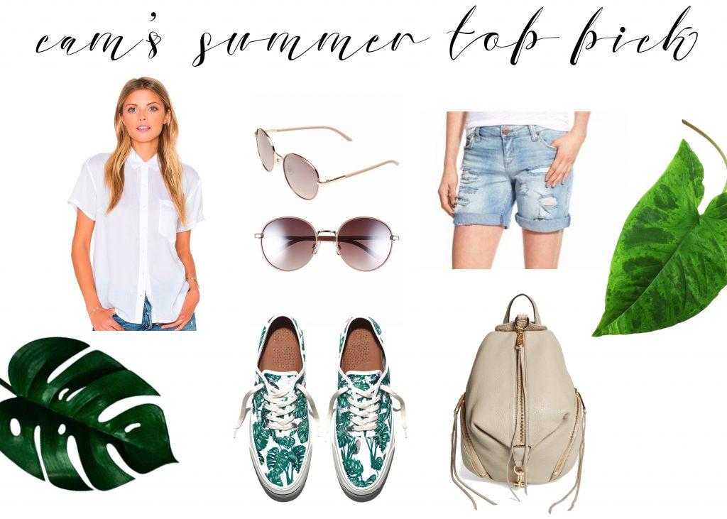 cam's summer top pick