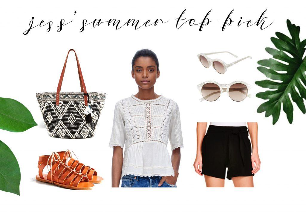 jess' summer top pick