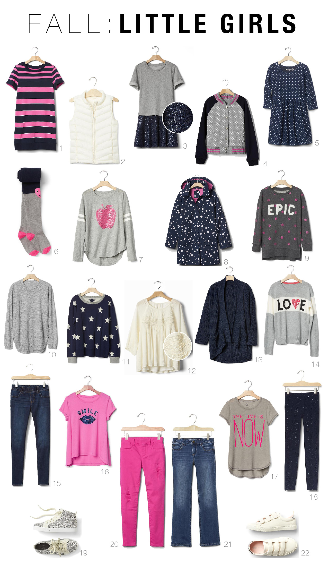 845bec2f26 Fall Capsule Wardrobes for Toddlers and Kids