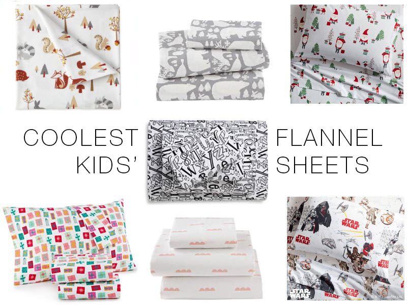 Festive Cozy Flannel Sheets For Kids Adults The Mom Edit