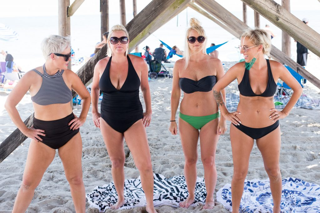 For self-love & body positivity, we're baring it all — well, close. Swimsuits that make us feel good, (plus being postpartum & nursing-friendly) we got 'em.