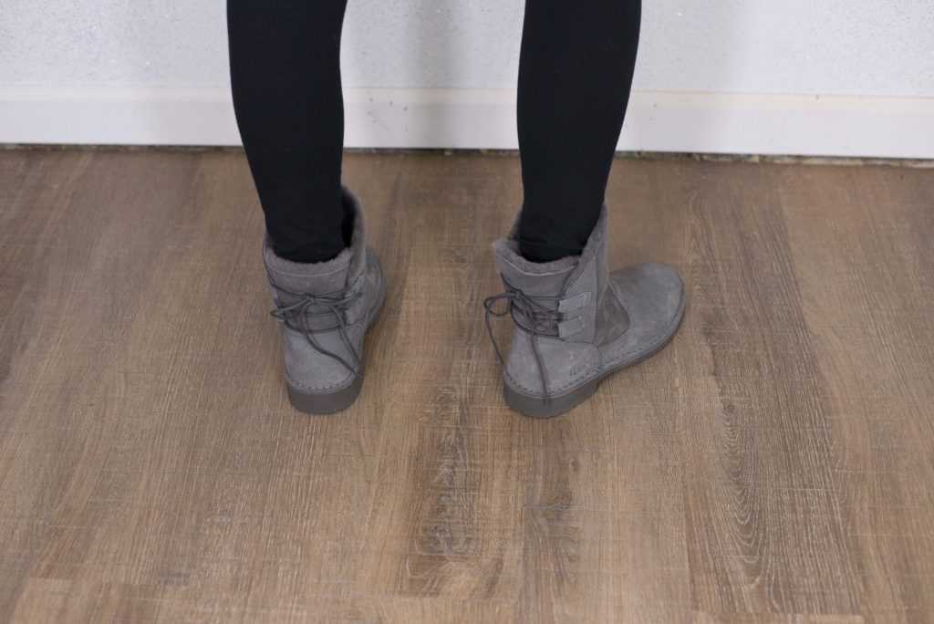 ugg boots with laces