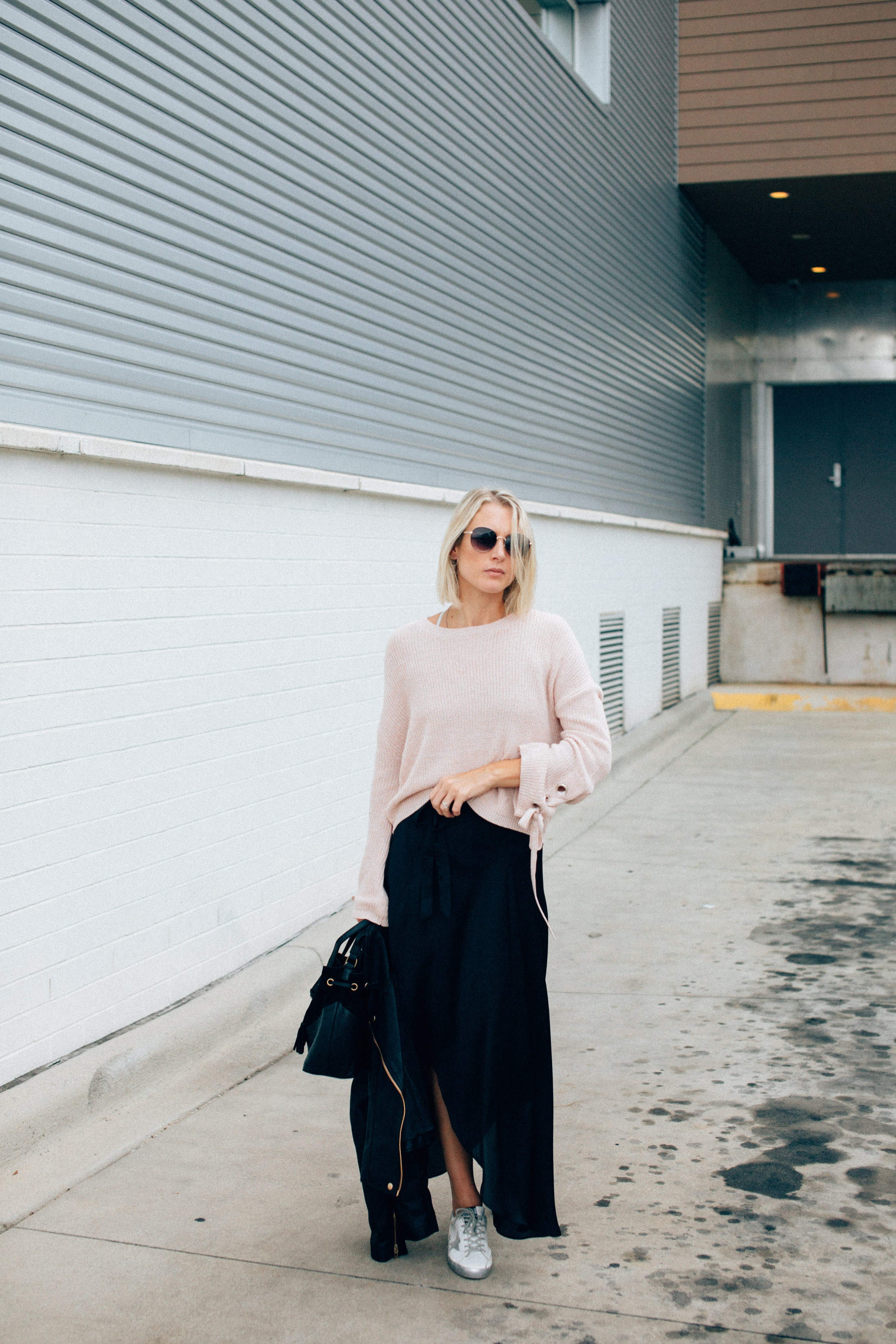 street style outfit formula for fall