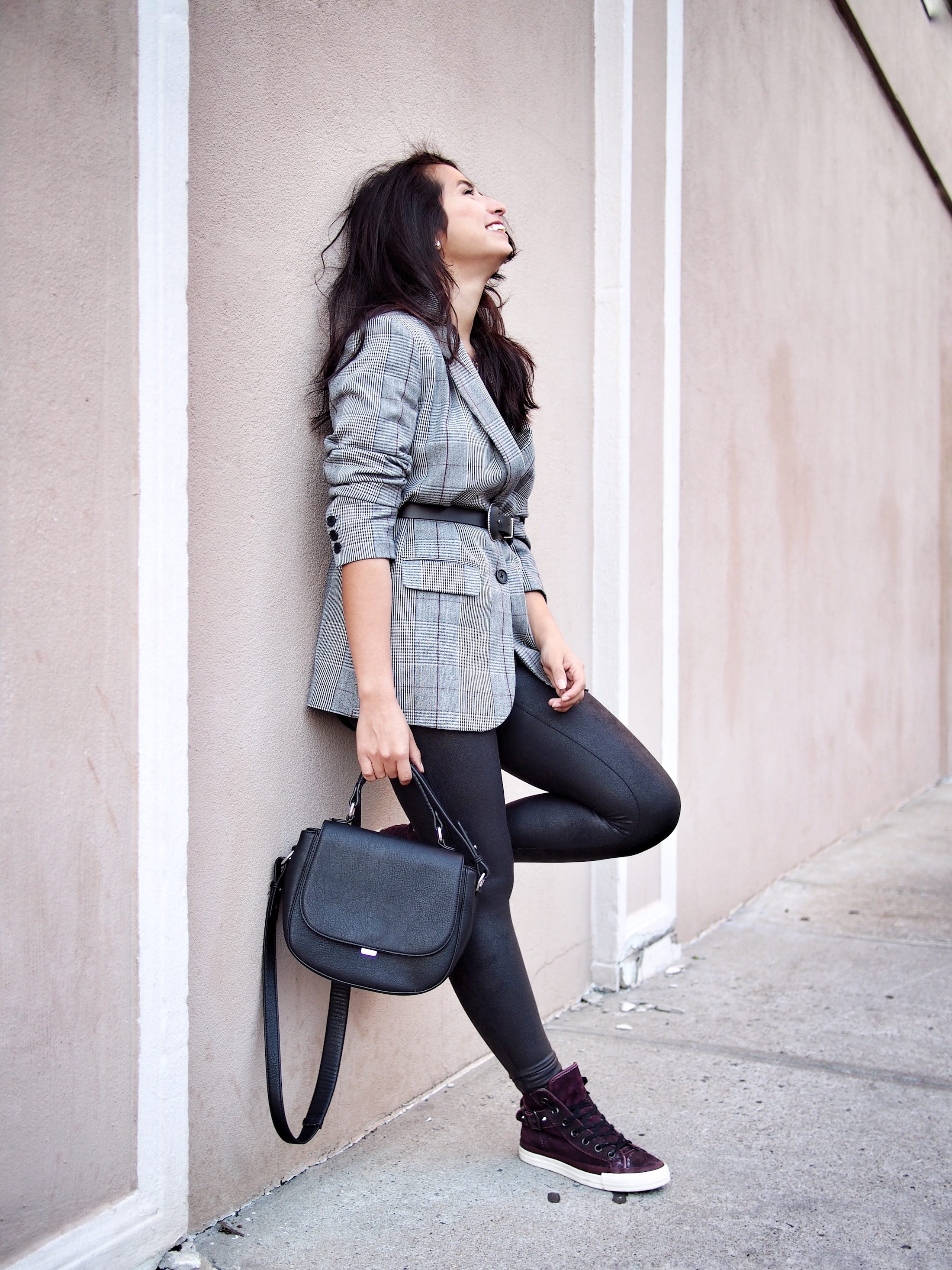 oversized blazer styling