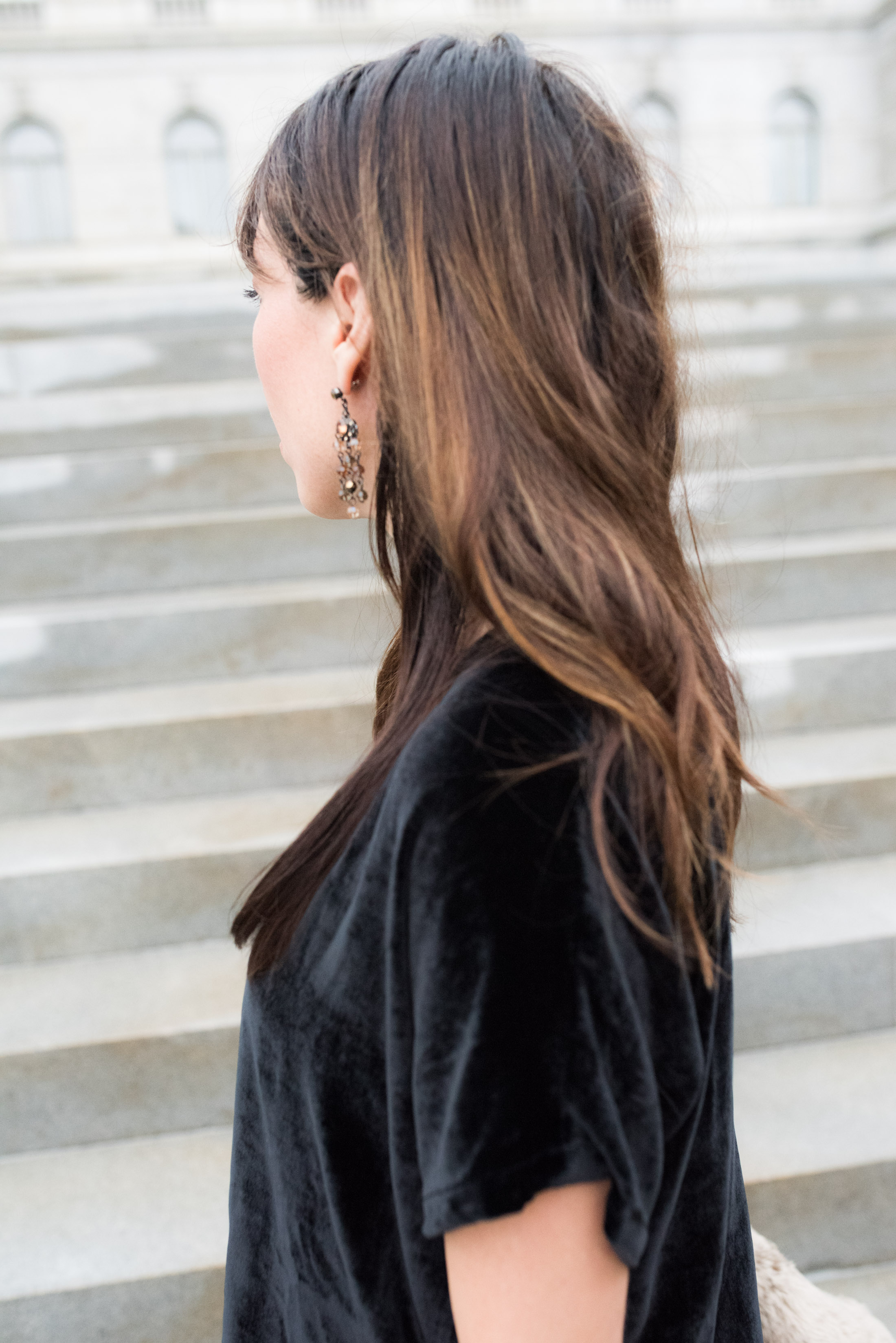 We're completely embracing the velvet trend this year — head to toe — either you're with us, or you're against us. See our take on velvet for women, here!