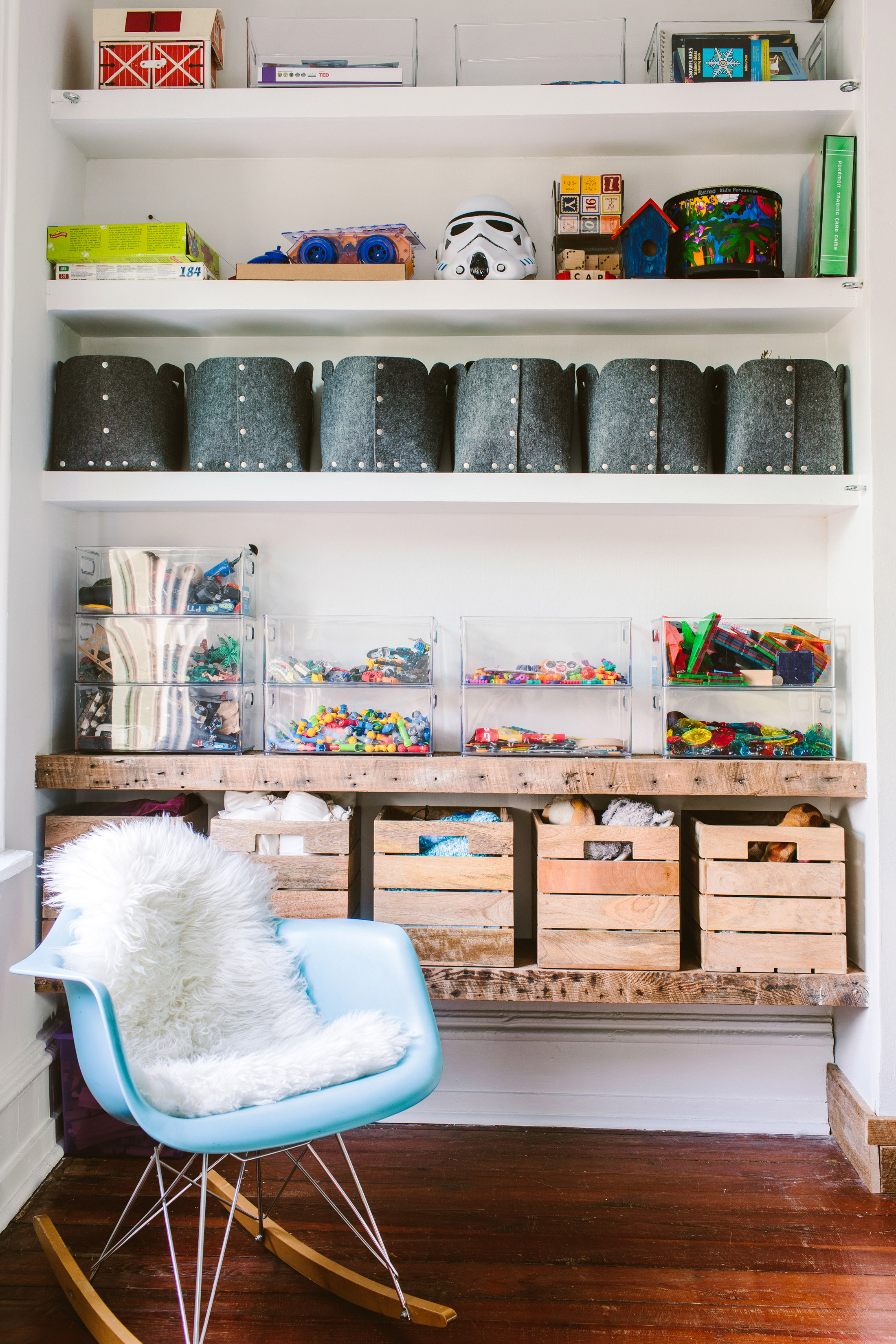 kids playroom organization