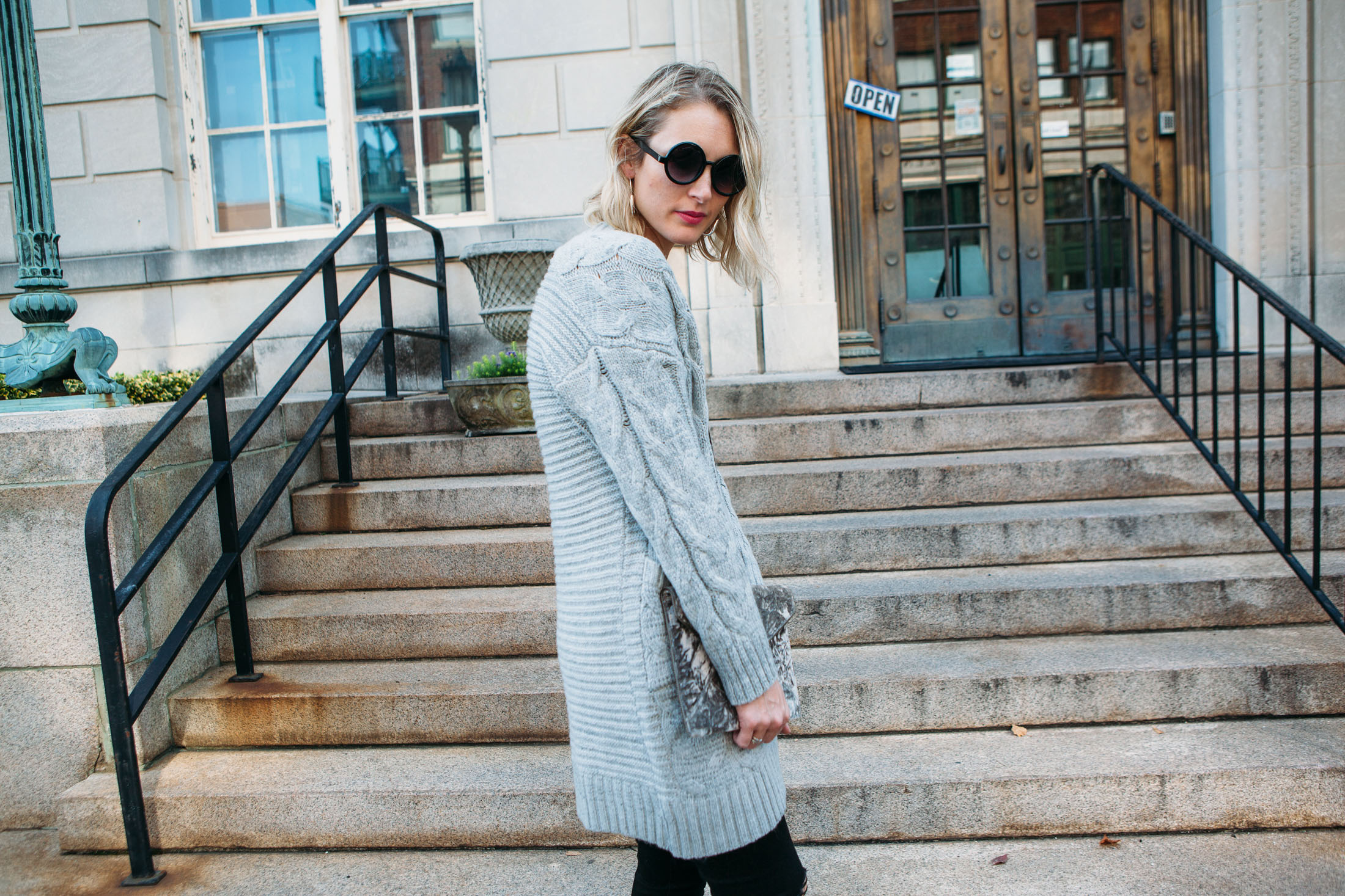 best chunky cardigan for fall and winter
