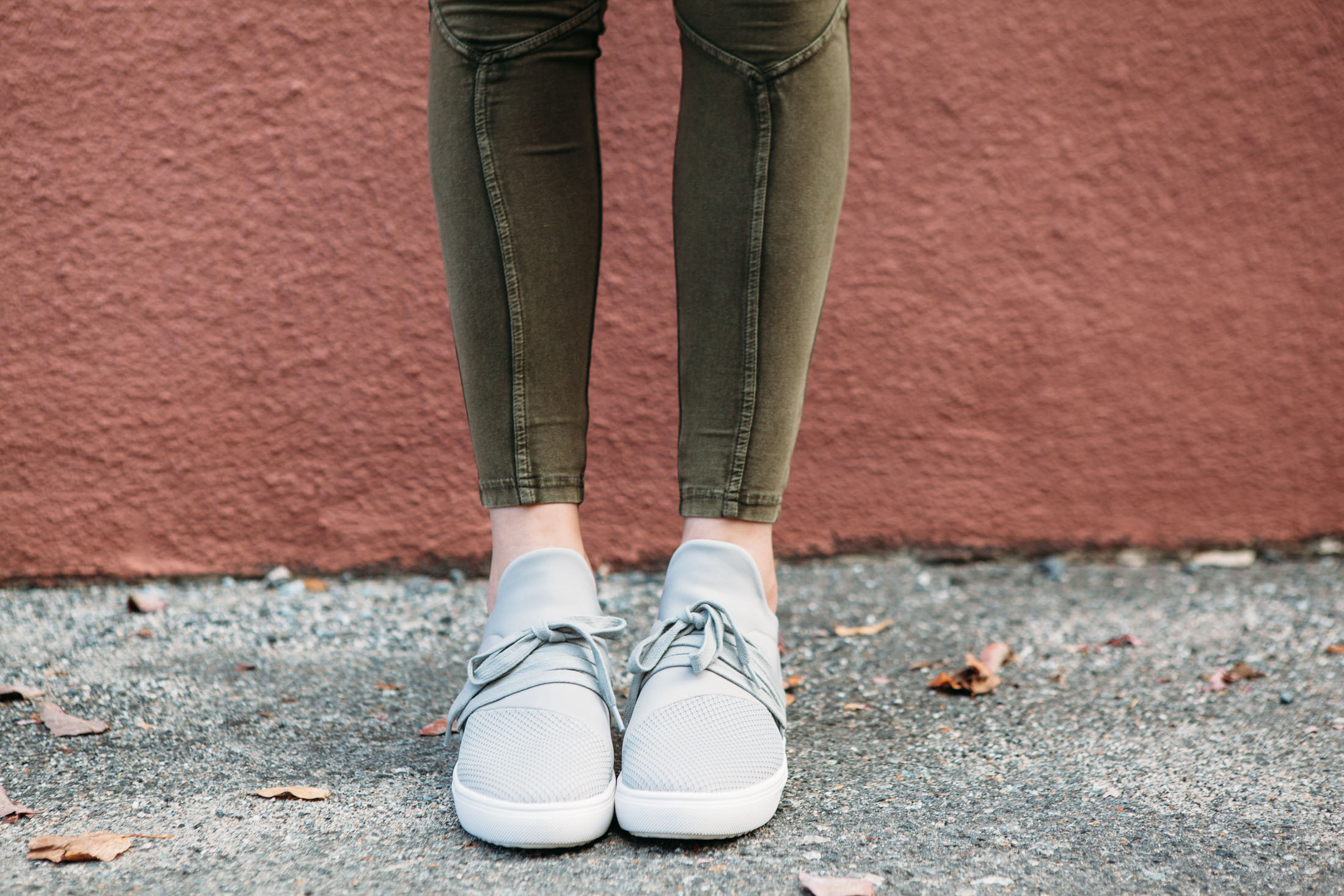 light grey fashion sneakers