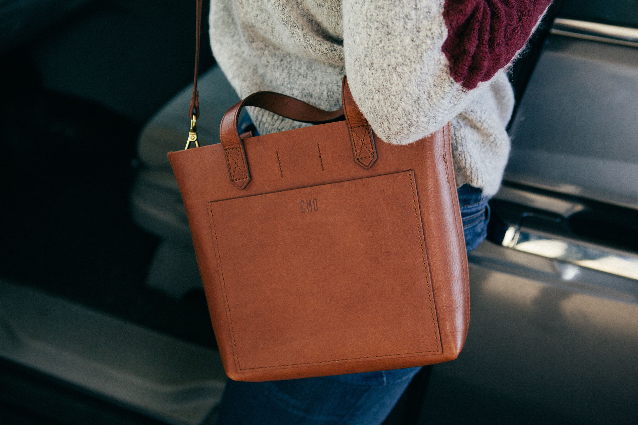 madewell handbag customized