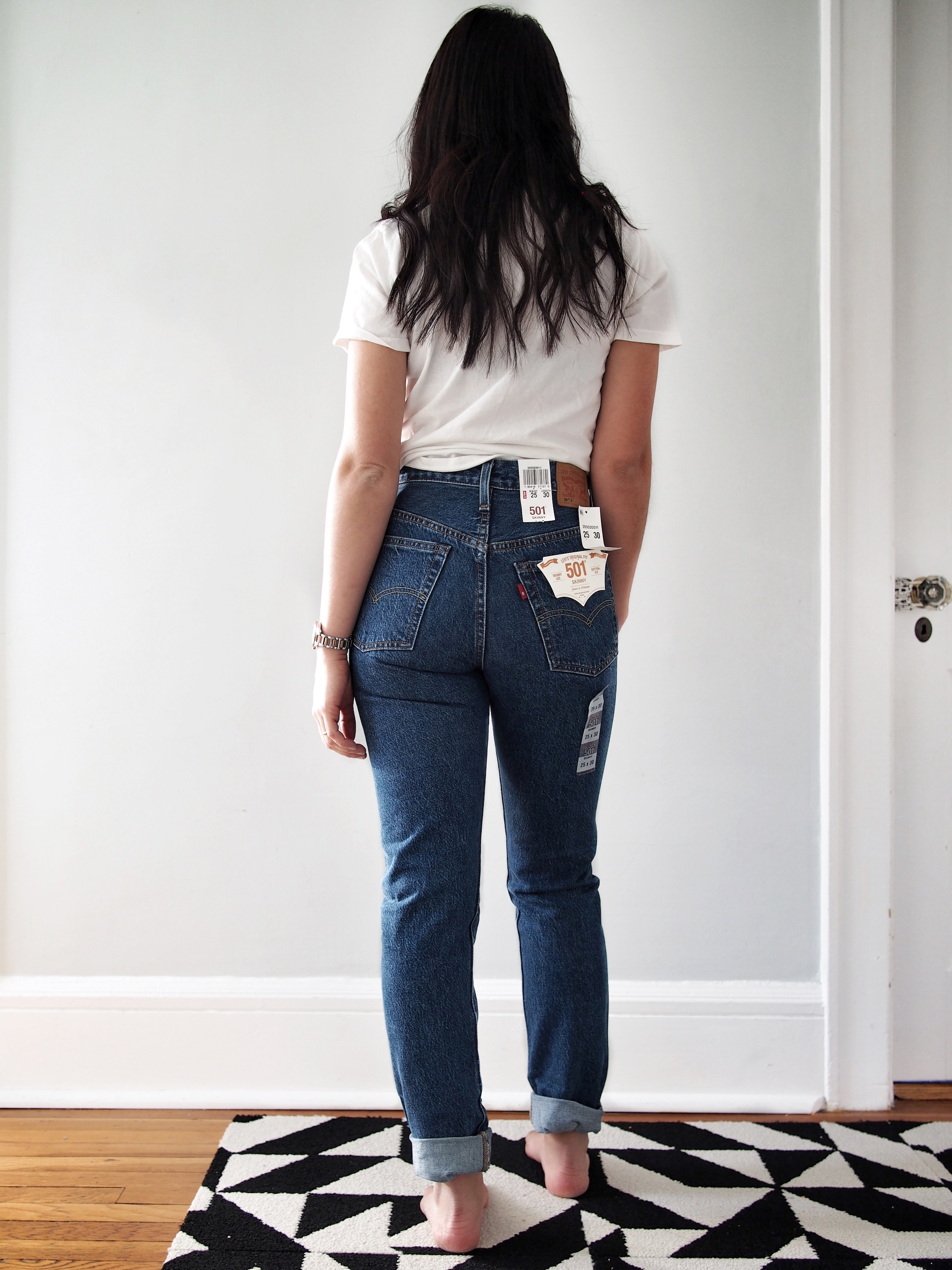 e05ca56e 501 skinny selvedge (Pop Rock) $79.98 on sale –There was something about  this wash that made it feel so vintage. I feel like this is one of those  pairs that ...