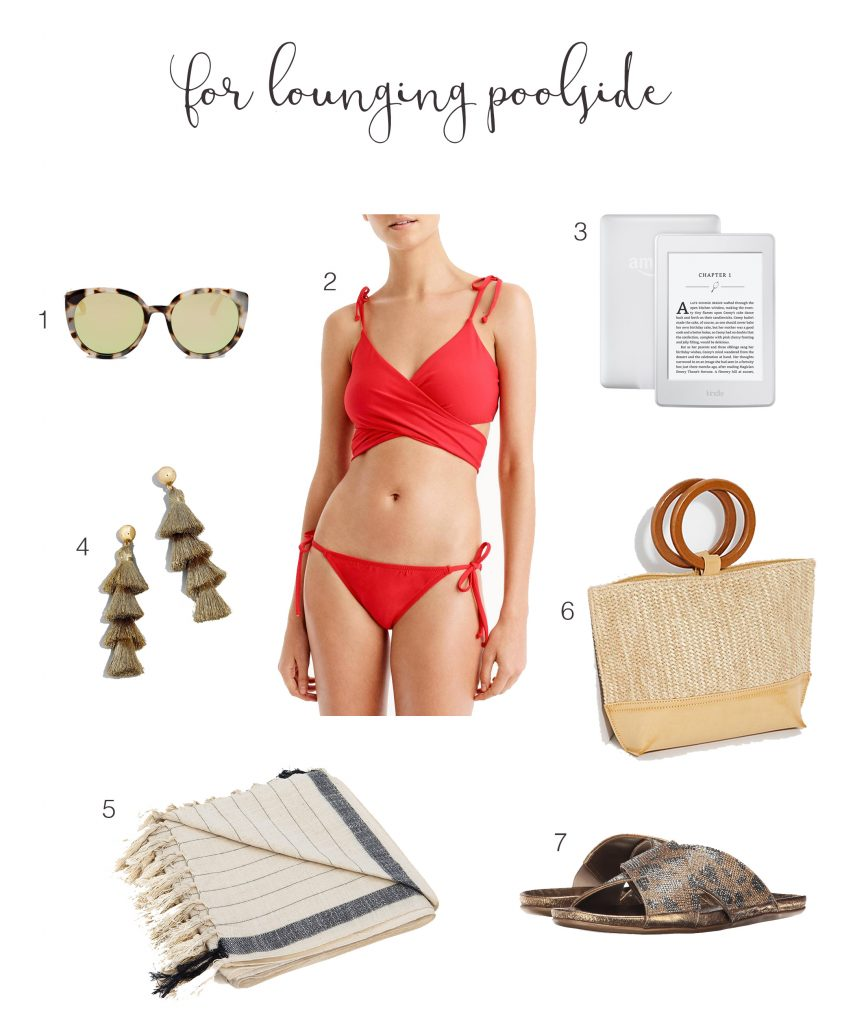 Wherever your Spring Break takes you, try these 3 swim looks—outfits for the whole week. Just bring the sunscreen...oh wait—we picked that out for you too!