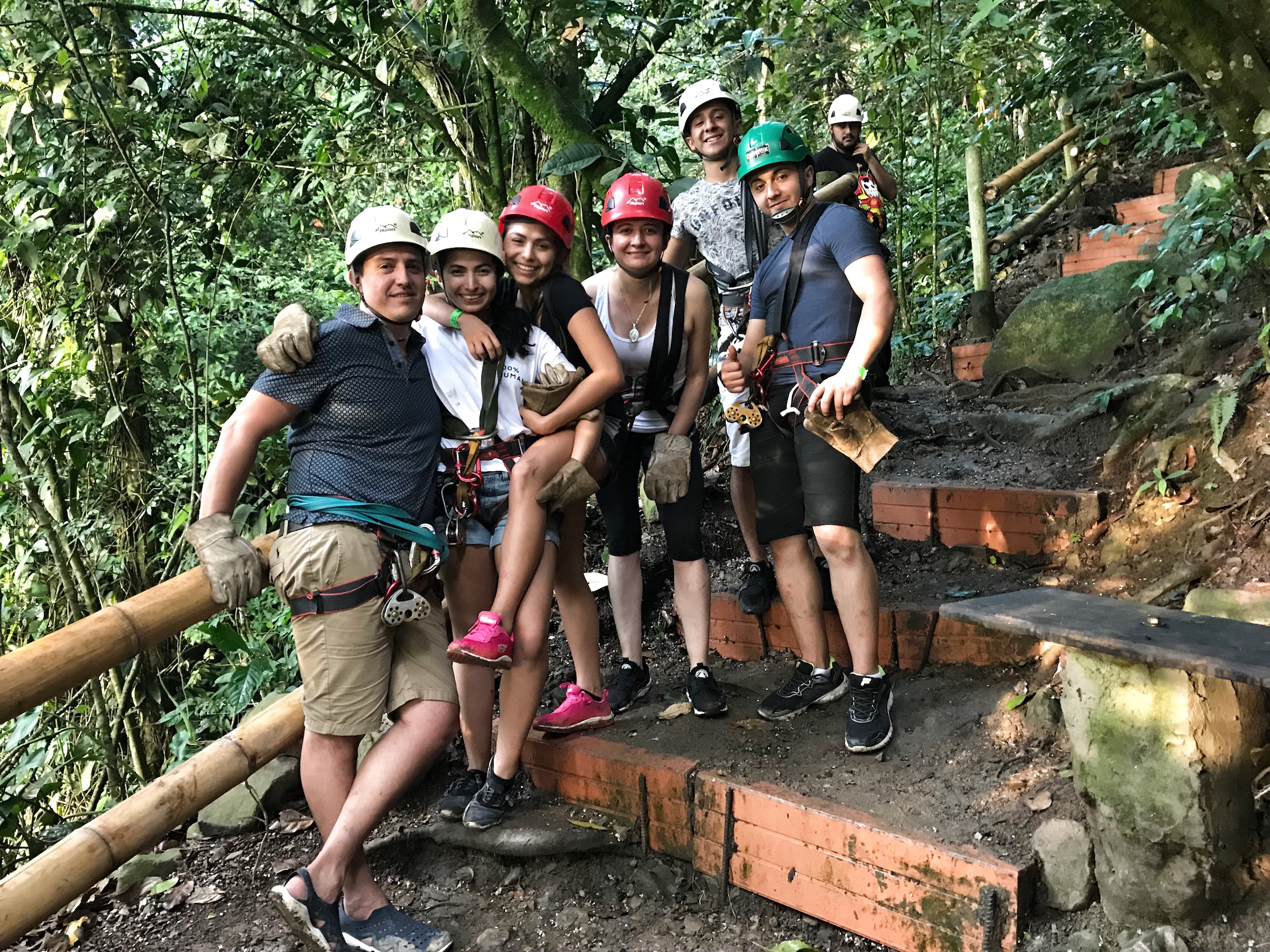 "Traveling with the fam to Colombia? For an adventurous getaway to the mountains of el ""pueblo"" La Mesa near Anapoima, see how we do."
