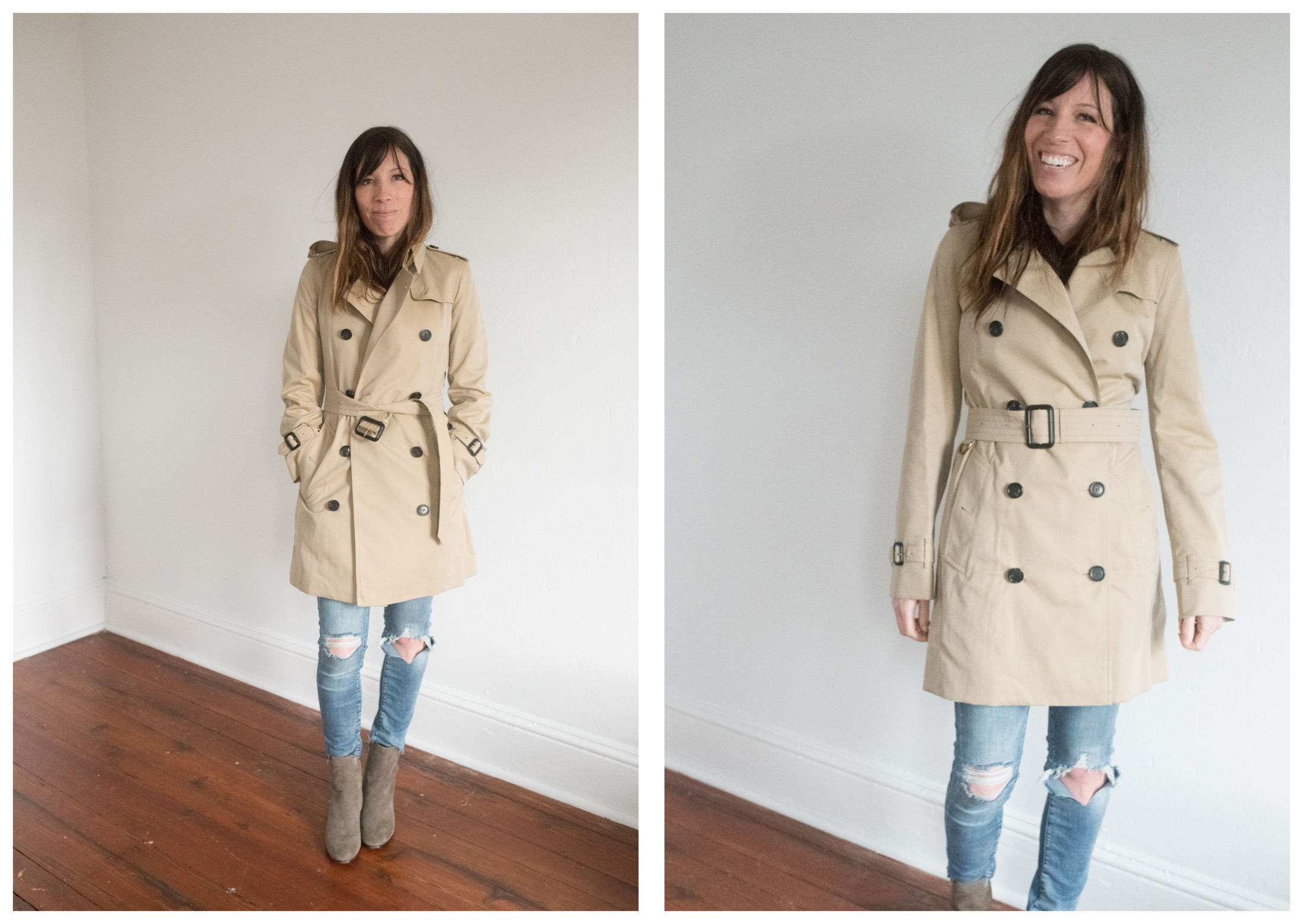 Enough is enough. Is the Burberry trench coat REALLY the best...or is there 1 just as good (ahem, London Fog), that costs less? S investigates.