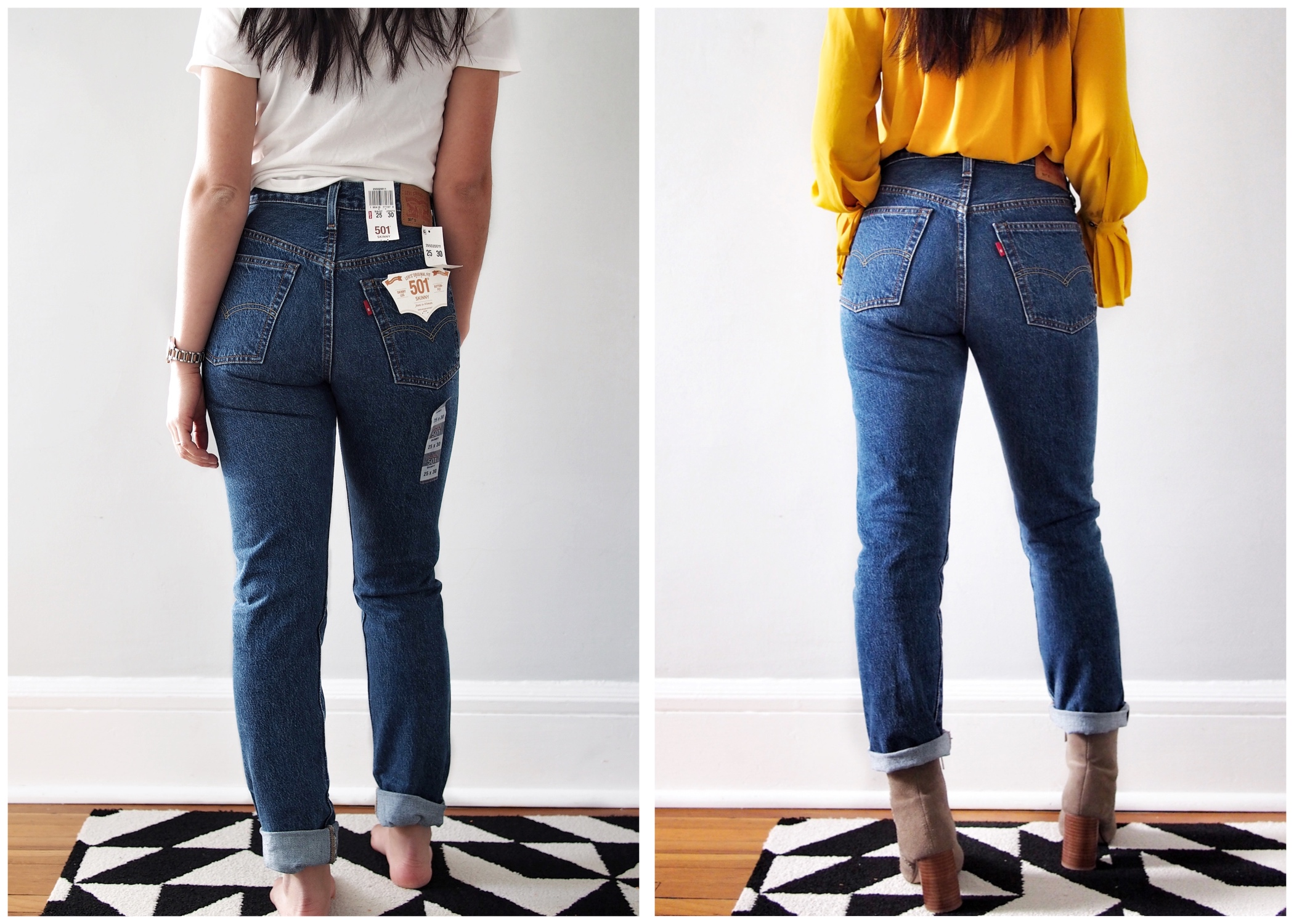 5c6283e1f3185a The Secret to Breaking-In Your New Stiff Jeans | The Mom Edit