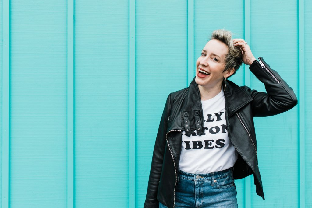We're obsessed w/ graphic tees. In outfits, they're fun & fresh & create more interest than a plain white t-shirt. Our favs & ways to wear 'em, inside.