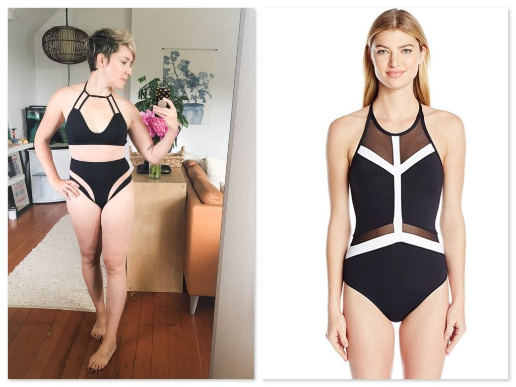 Bathing suit season calls for serious choices — ha! Sorta. But finding the best suit for your body type isn't a joke. See my favs for short figures here.