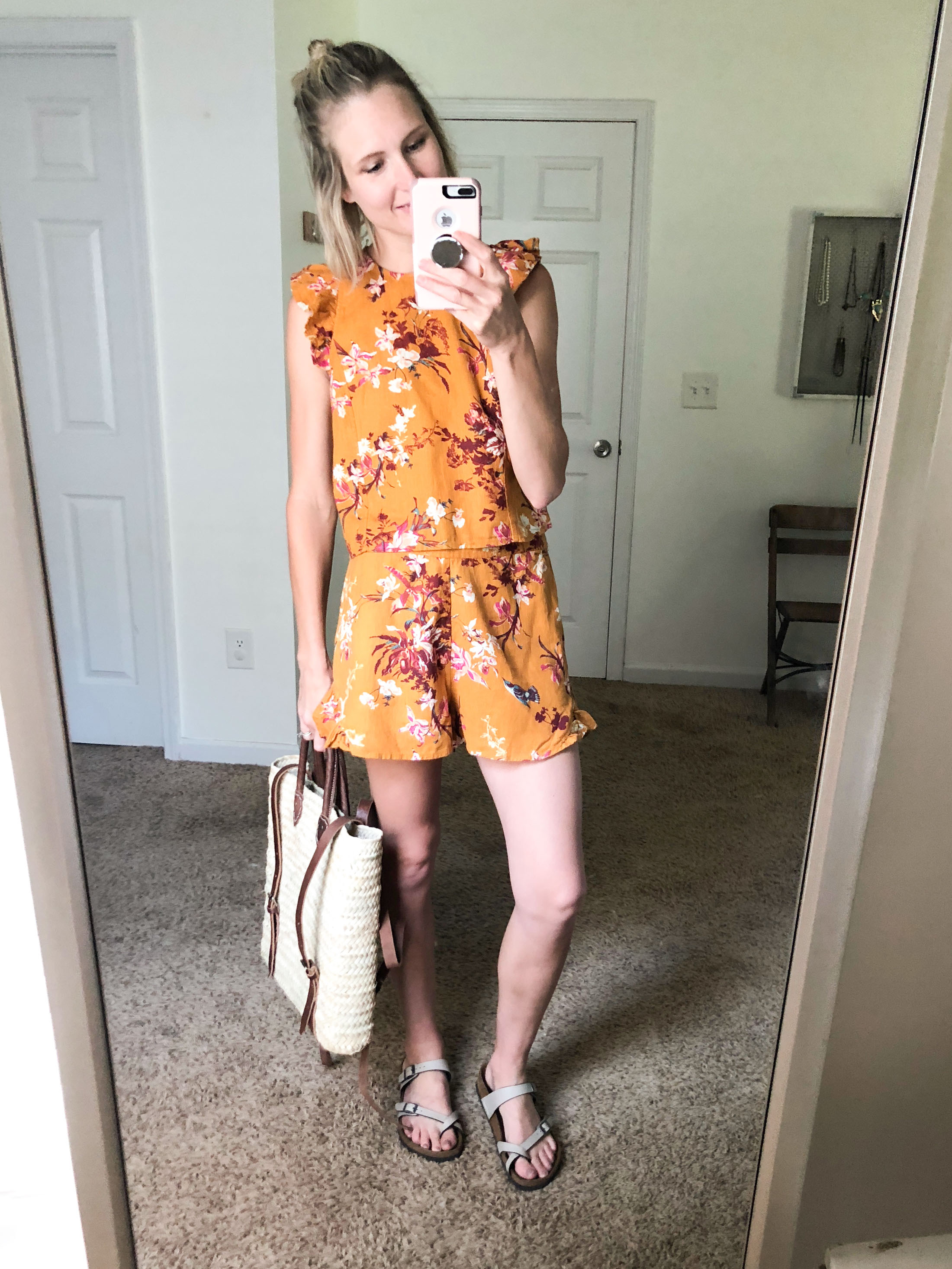 birkenstocks-with-matching-top-and-shorts