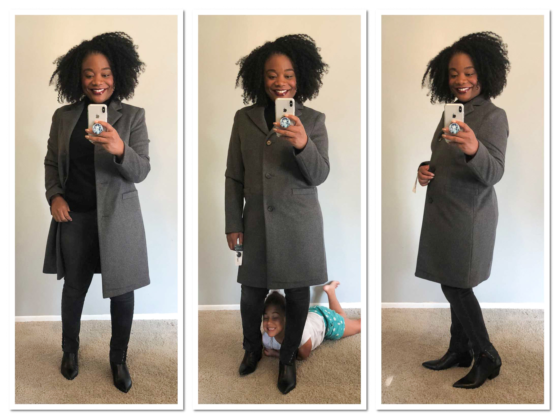 We're eyeing the best jackets & coats from the Nordstrom Anniversary Sale, so TME went in for another round of #DressingRoomSelfies. See how they look.