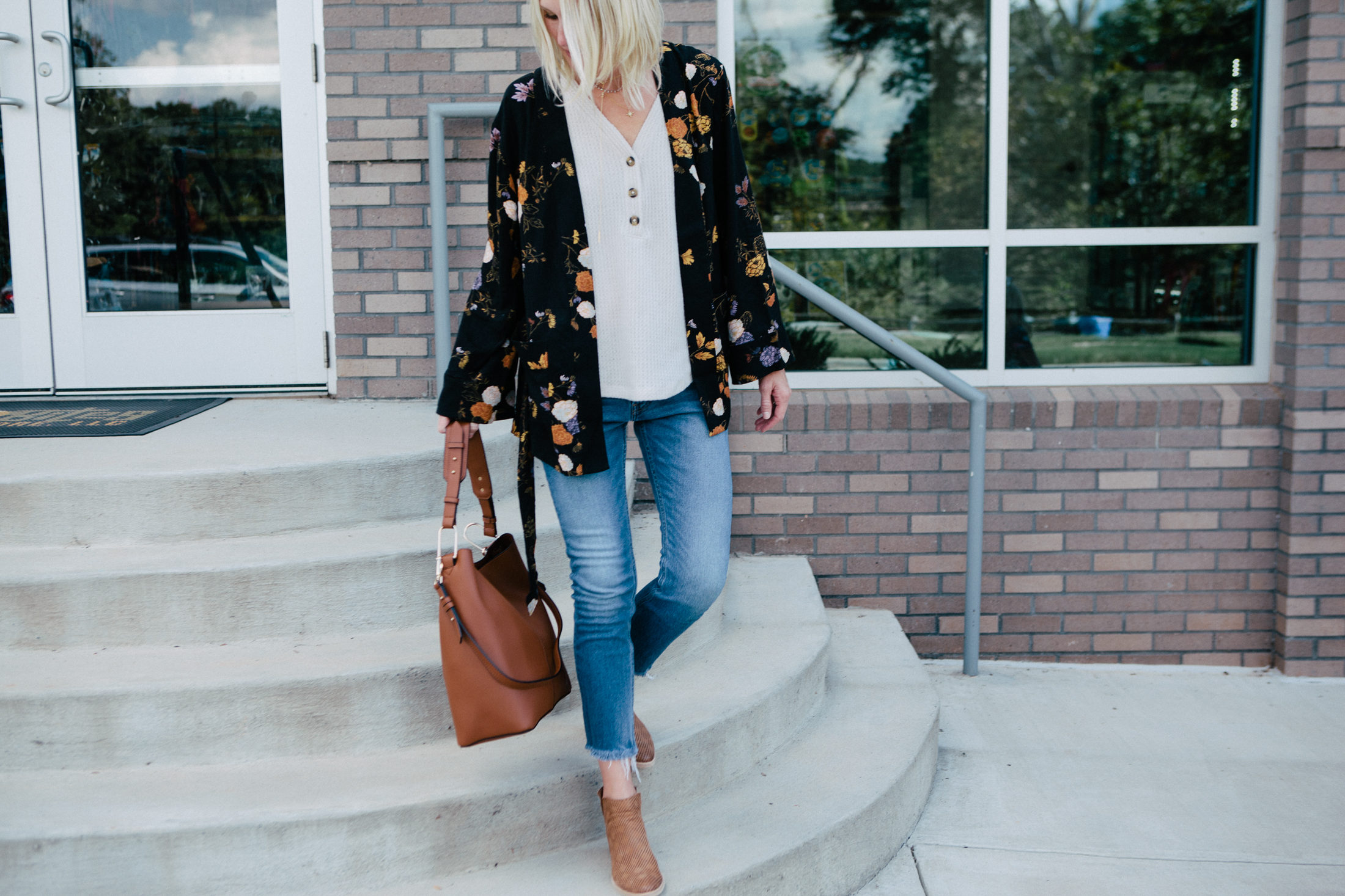 how to wear a kimono this fall