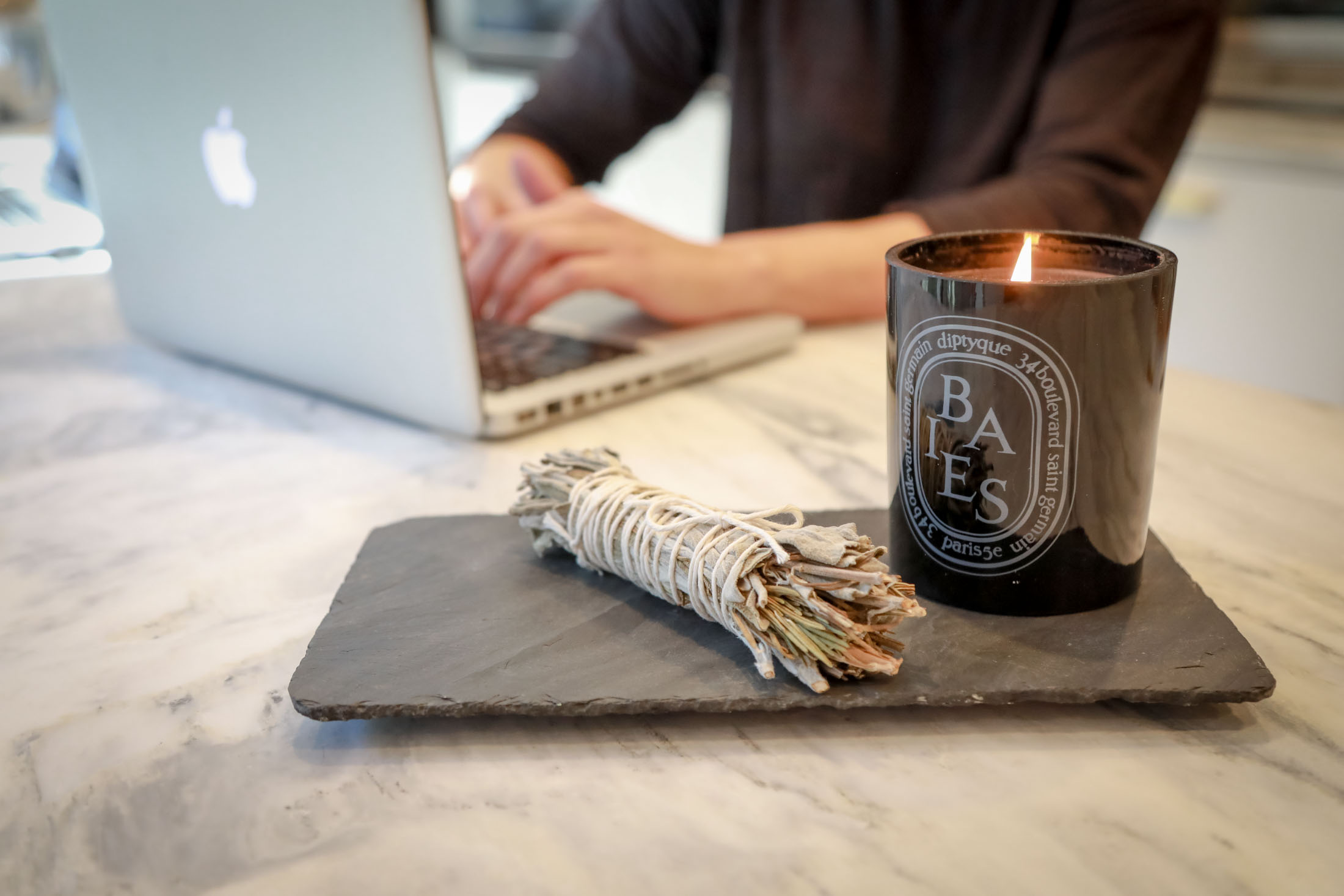 It's time to get cuddle up! Wrap yourself in a super-soft throw & light a candle or smudge stick to cozy the days & nights away for cold-weather happiness.