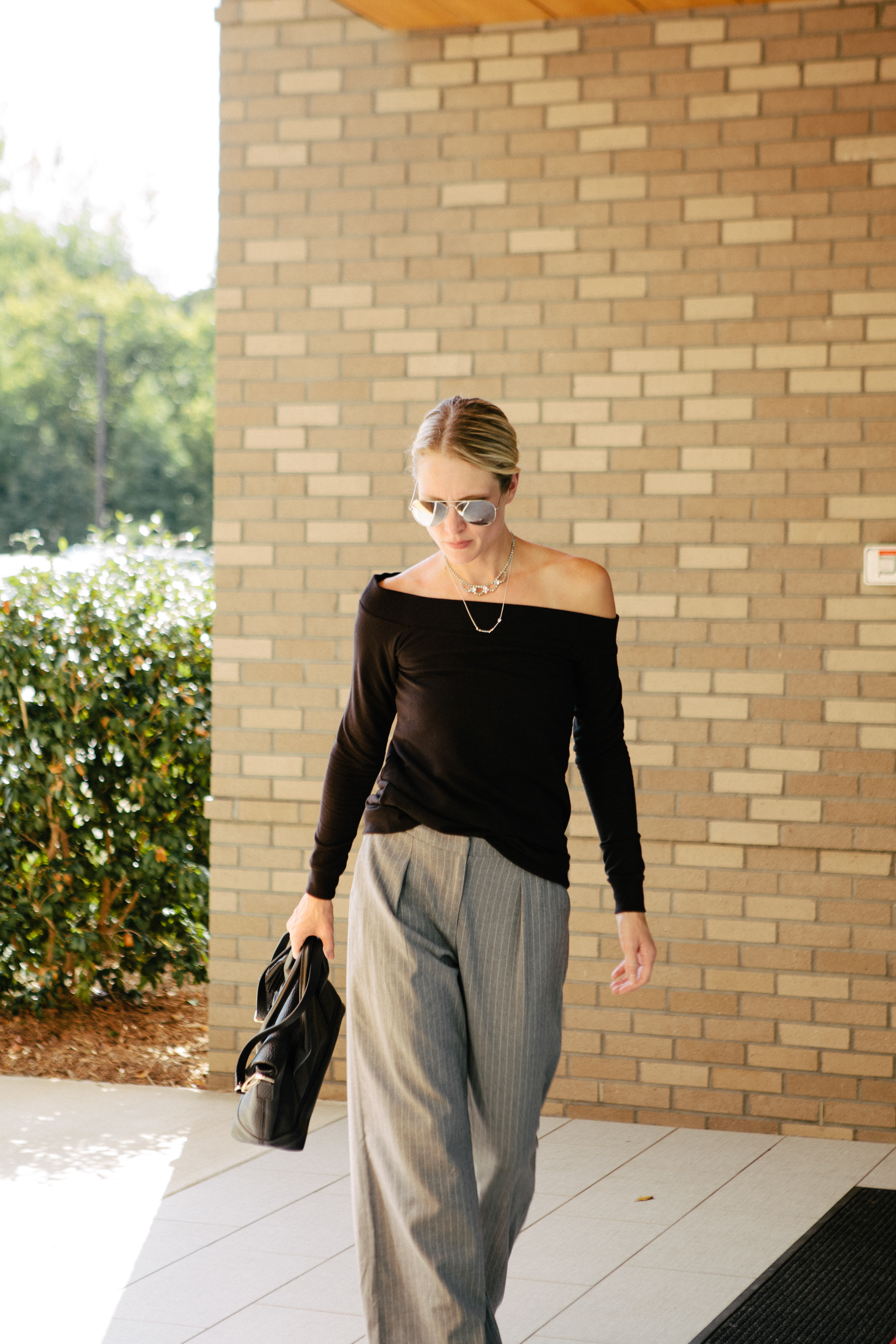 wide leg pant outfit
