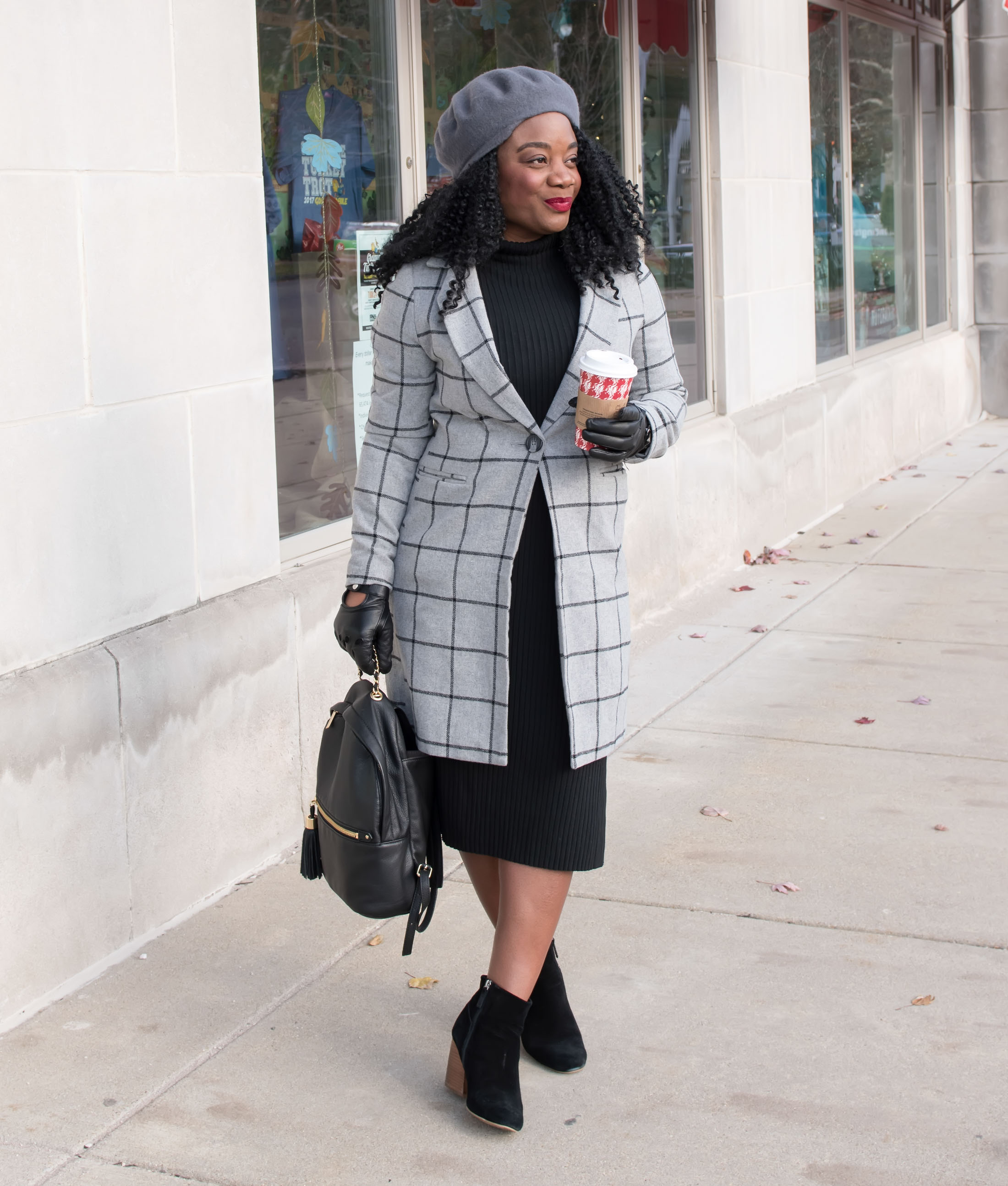 Leopard or plaid for the perfect statement coat? We're taking a walk on the style side & mixing prints & contrasting colors. Take a chic risk with us!