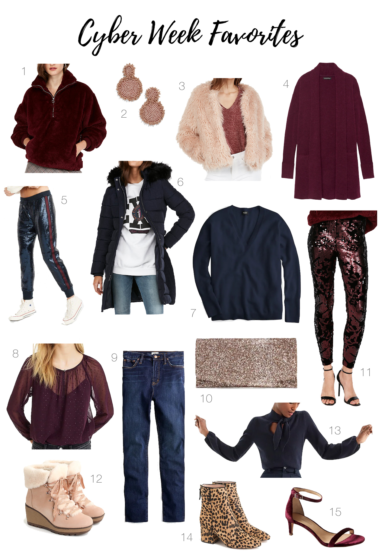 Black Friday deals & Cyber Monday sales are here! See our picks for women that include stunning coats, fun sequin leggings & walkable booties.