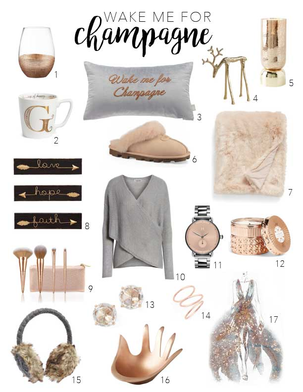 The holidays: falling snow, early sunsets, cuddling & hot cocoa (or wine) = evening perfection. These Xmas gift ideas (some with sparkles) celebrate it all.
