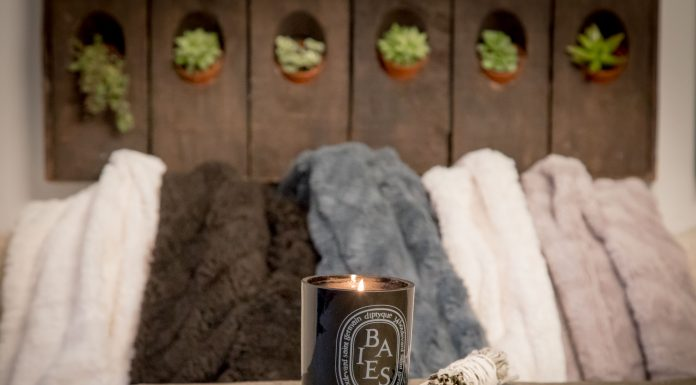 It's time to cuddle up! Wrap yourself in a super-soft throw & light a candle or smudge stick to cozy the days & nights away for cold-weather happiness.