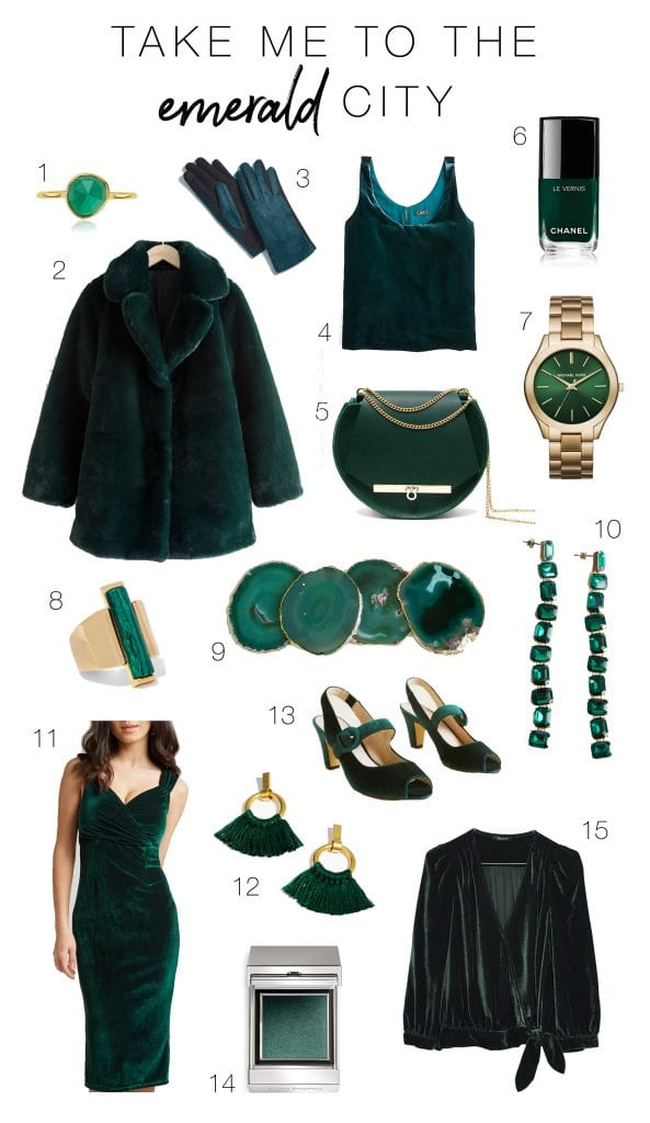 We're kicking off the holidays with this gorg shade of green. Rich, classy & unique — head to toe. Perfect to gift to others or just to get fancy yourself.